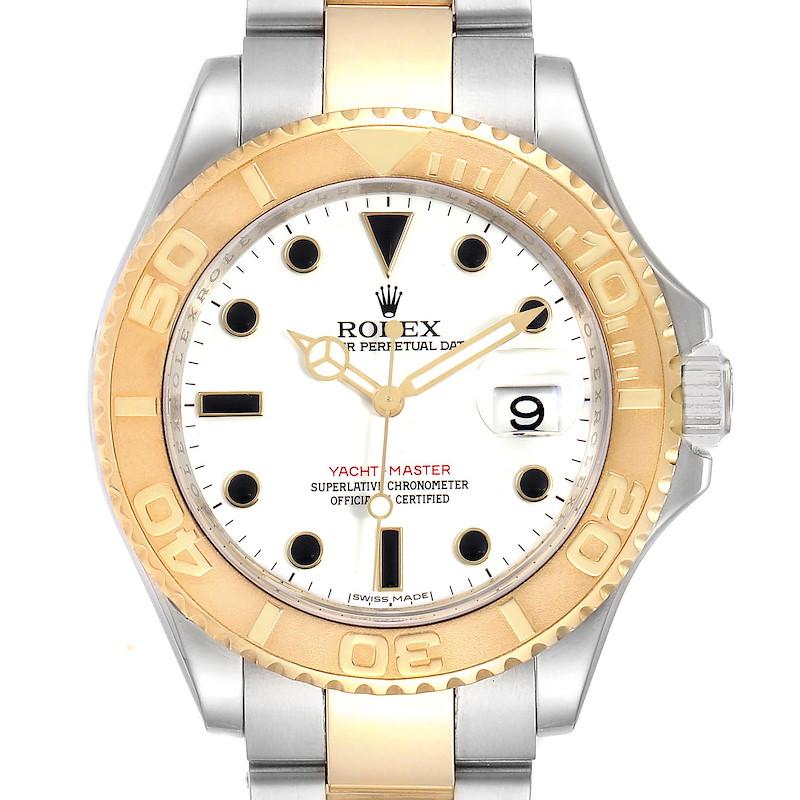 Rolex Yachtmaster Steel 18K Yellow Gold Mens Watch 16623 SwissWatchExpo