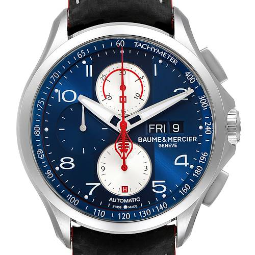 Photo of Baume Mercier Clifton Club Shelby Cobra 1964 Limited Watch 10343 Box Card