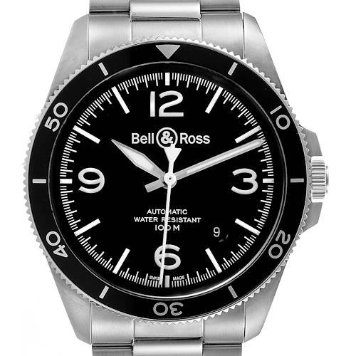 Photo of Bell & Ross Heritage Aeronavale Black Dial Steel Watch BRV292 Unworn