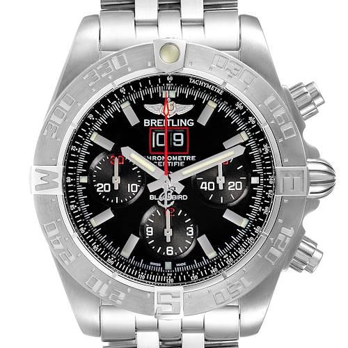 Photo of Breitling Chronomat Blackbird Limited Edition Mens Watch A44360 Unworn