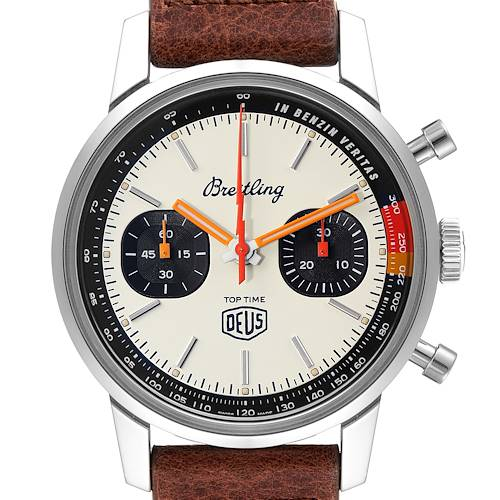 Photo of Breitling Top Time Deus Limited Edition Steel Mens Watch A23310 Box Card
