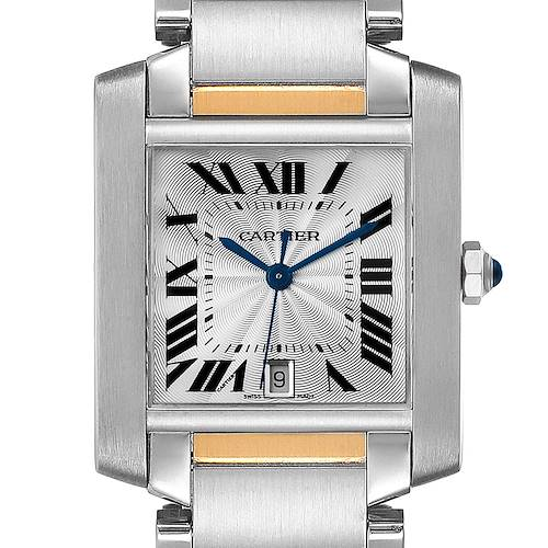 Photo of NOT FOR SALE Cartier Tank Francaise Steel Yellow Gold Large Unisex Watch W51005Q4 Box PARTIAL PAYMENT / ADD TWO LINKS