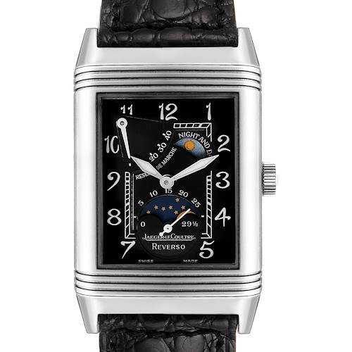 Photo of Jaeger LeCoultre Reverso Sun Moon White Gold Mens Watch 270.3.63 Q2753470