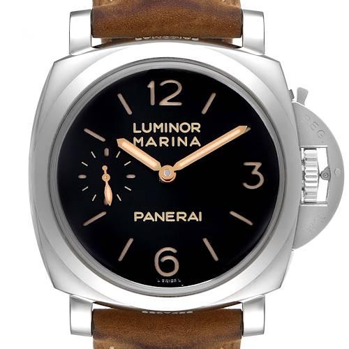 Photo of Panerai Luminor 1950 Acciaio 47mm 3 Days Power Reserve Watch PAM00422