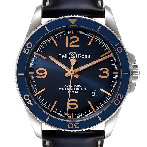 Photo of Bell & Ross Heritage Aeronavale Blue Dial Steel Watch BRV292 Unworn