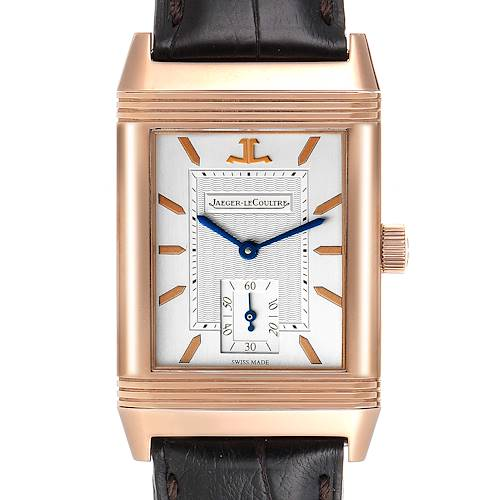 Photo of Jaeger LeCoultre Reverso Art Deco Rose Gold Mens Watch 270.2.62 Q270262