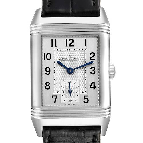 Photo of Jaeger LeCoultre Reverso Duo Day Night Watch 213.8.D4 Q3848420 Box Card