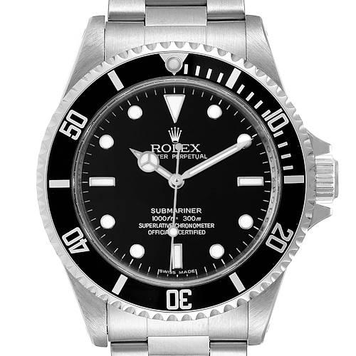 Photo of Rolex Submariner 40mm Non-Date 4 Liner Steel Mens Watch 14060