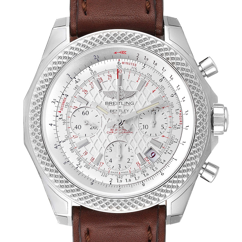 Breitling Bentley B05 Unitime Silver Dial Mens Watch AB0612 Unworn SwissWatchExpo