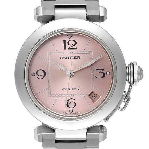 Photo of Cartier Pasha C Midsize Pink Dial Automatic Ladies Watch W31075M7