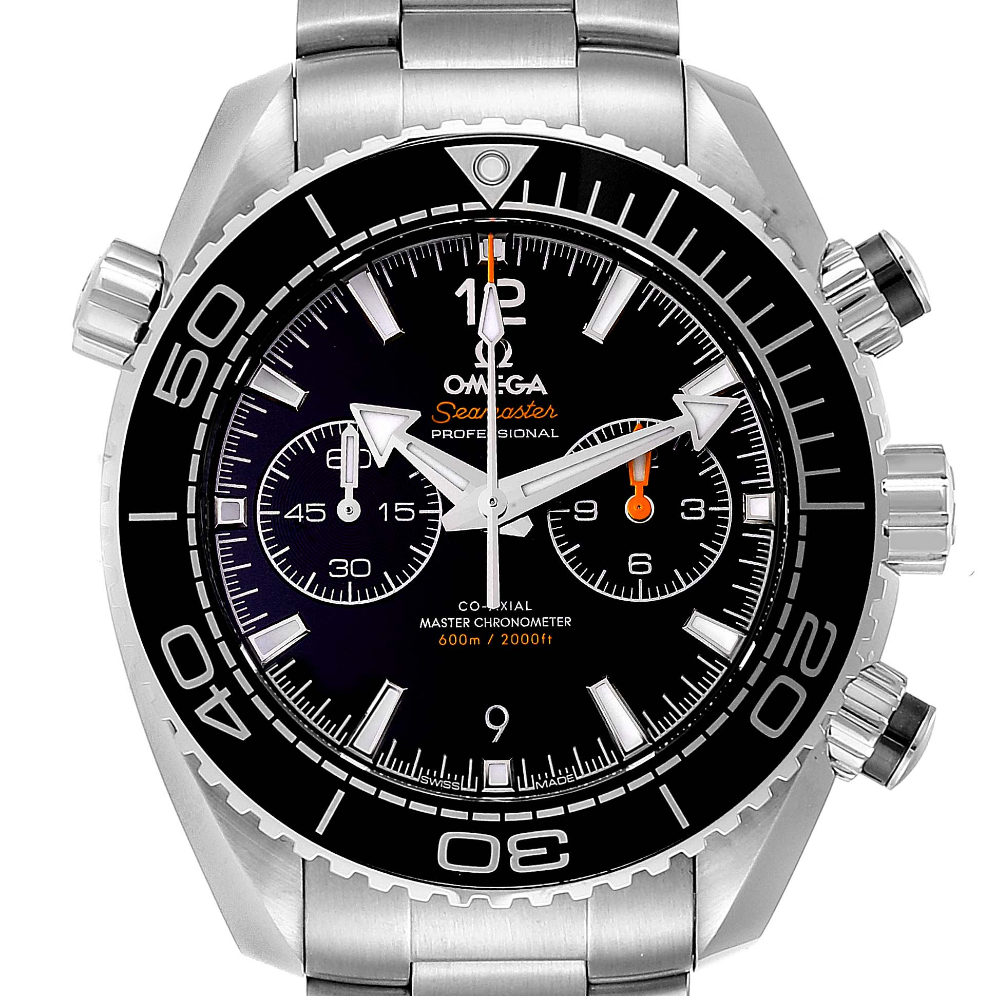 Omega Seamaster Planet Ocean 600M Watch 215.30.46.51.01.001 Box Card