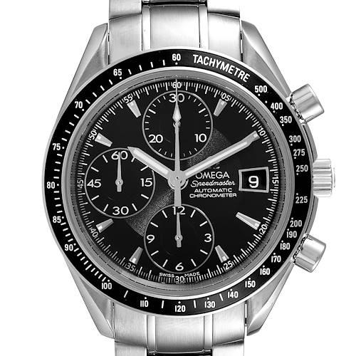 Photo of Omega Speedmaster Chronograph Black Dial Mens Watch 3210.50.00