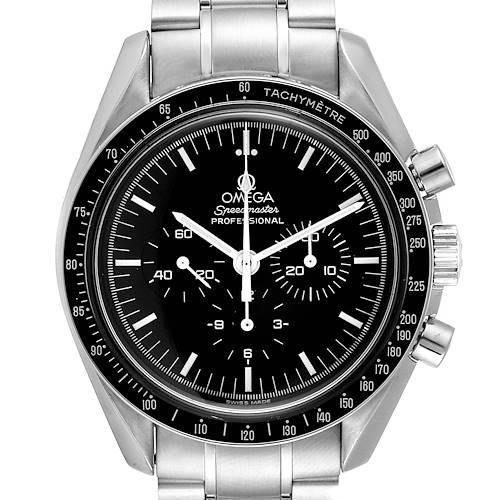 Photo of Omega Speedmaster Chronograph Steel Mens Moon Watch 3570.50.00 Card