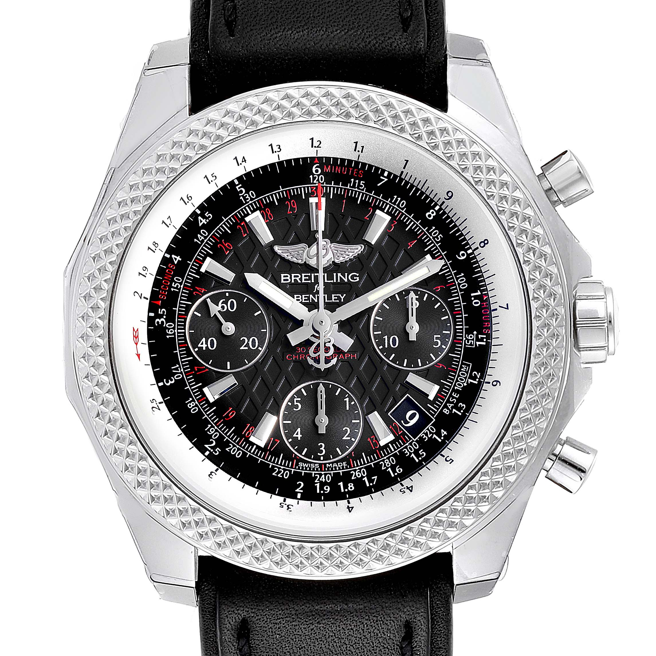 Photo of Breitling Bentley B05 Unitime Black Dial Mens Watch AB0612 Unworn