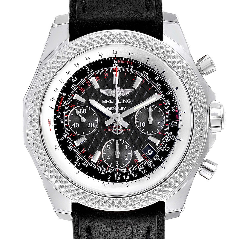 Breitling Bentley B05 Unitime Black Dial Mens Watch AB0612 Unworn SwissWatchExpo