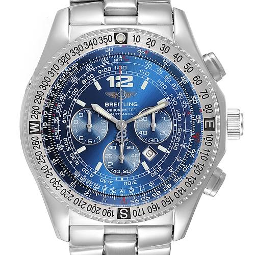Photo of Breitling Professional B-2 Mens Chronograph Steel Watch A42362 Box Papers