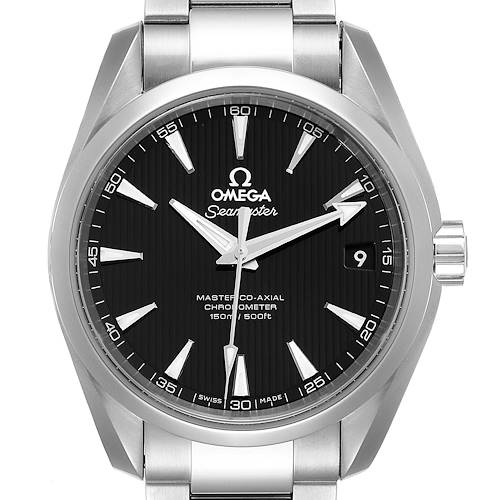 Photo of Omega Seamaster Aqua Terra 150m Mens Watch 231.10.39.21.01.001 Box Card