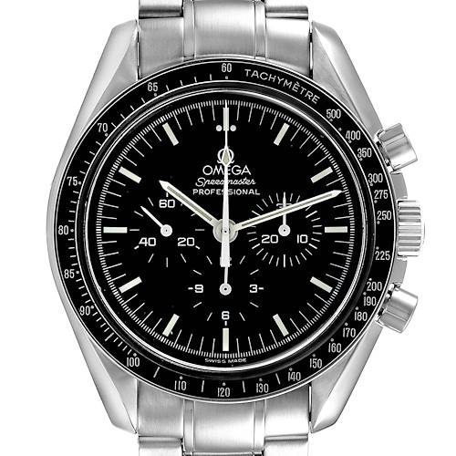 Photo of NOT FOR SALE Omega Speedmaster Hesalite Sapphire Sandwich MoonWatch 3572.50.00 Box Card PARTIAL PAYMENT