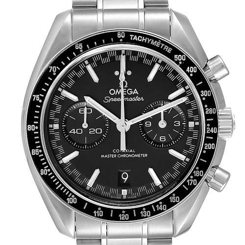 Photo of Omega Speedmaster Racing Co-Axial 44 Steel Watch 329.30.44.51.01.001 Box Card