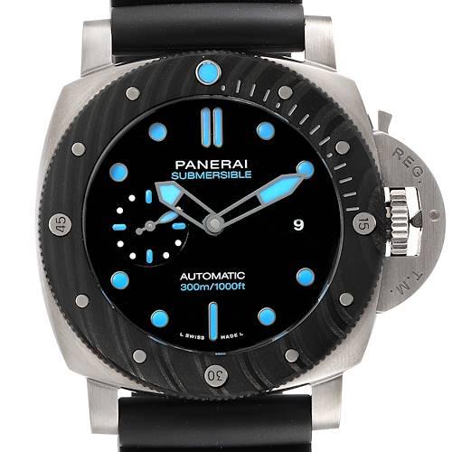 Photo of Panerai Luminor Submersible 1860 BMG-TECH Mens Watch PAM00799 Box Card
