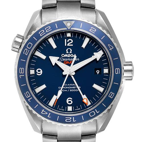 Photo of Omega Seamaster Planet Ocean 44mm Watch 232.90.44.22.03.001 Box Card