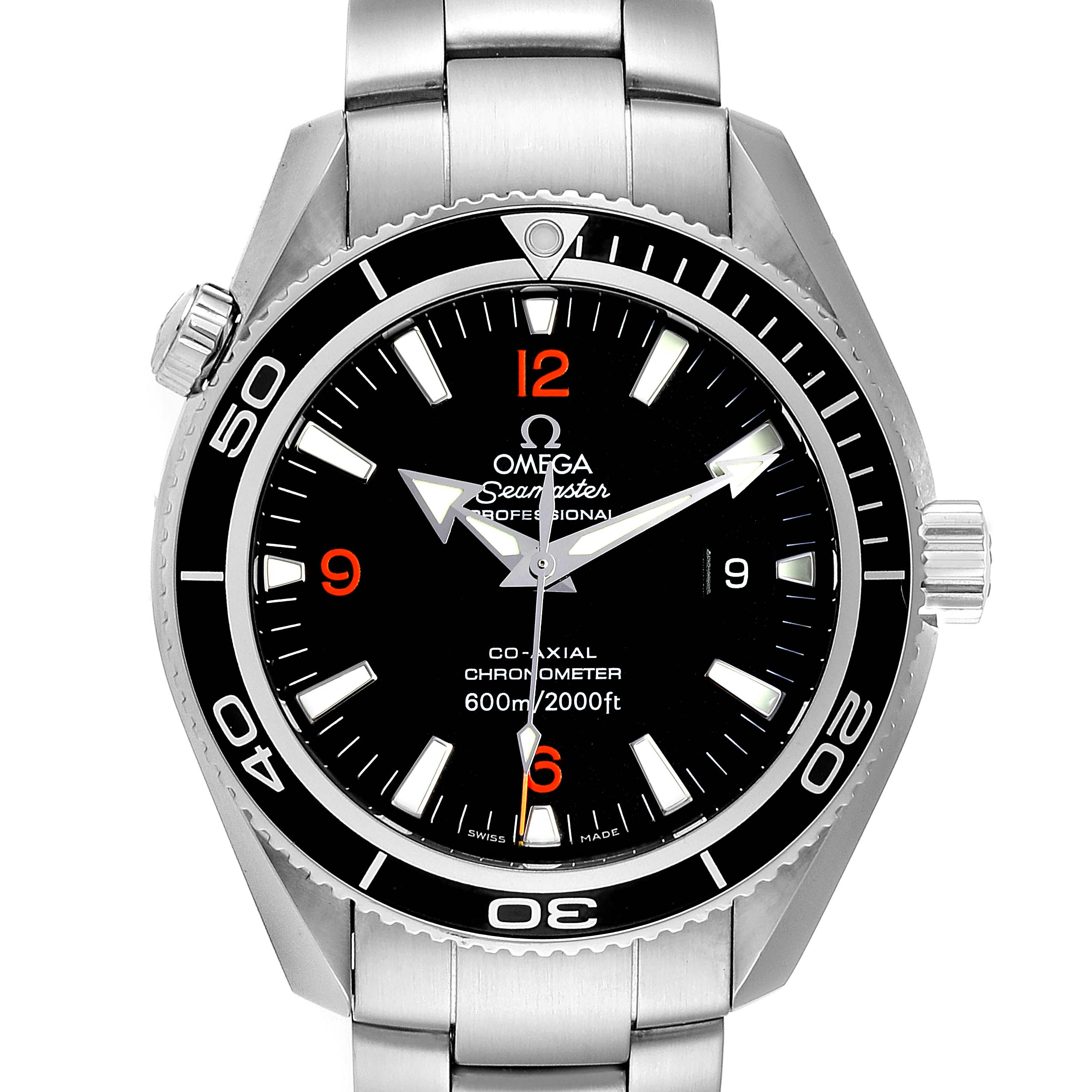 Omega Seamaster Planet Ocean Mens 42 Co-Axial Mens Watch 2201.51.00 Card