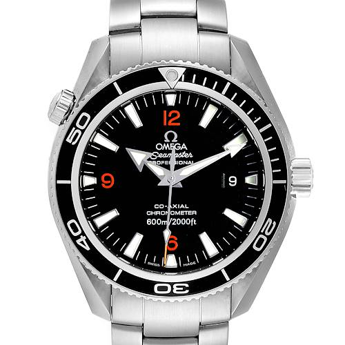 Photo of Omega Seamaster Planet Ocean Mens 42 Co-Axial Mens Watch 2201.51.00 Card