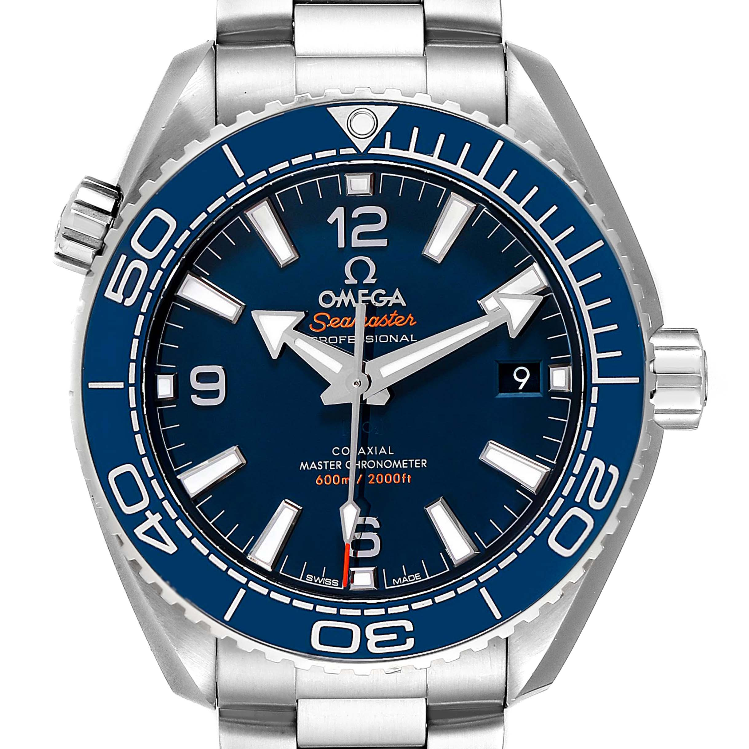Omega Seamaster Planet Ocean Mens Watch 215.30.44.21.03.001 Box Card