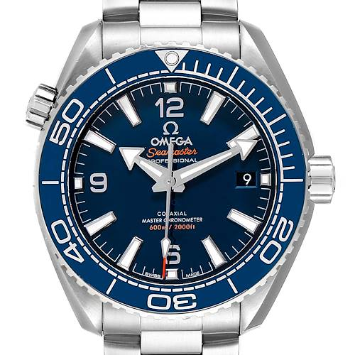 Photo of Omega Seamaster Planet Ocean Mens Watch 215.30.44.21.03.001 Box Card