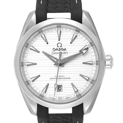 Photo of Omega Seamaster Aqua Terra Silver Dial Watch 220.12.38.20.02.001
