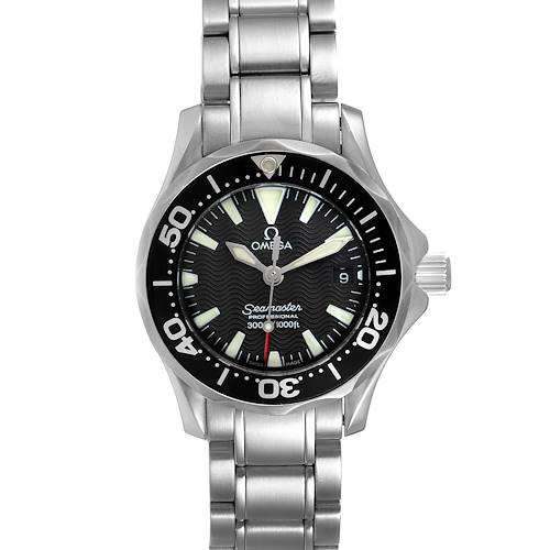 Photo of Omega Seamaster Diver 300M 28mm Steel Ladies Watch 2284.50.00 Box Card