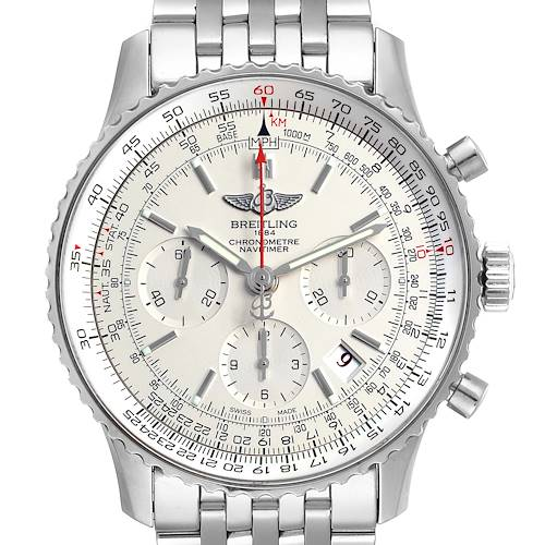 Photo of Breitling Navitimer 01 Limited Edition Mens Watch AB0123 Box Card