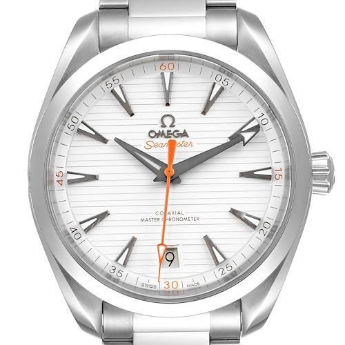Photo of Omega Seamaster Aqua Terra Orange Hand Watch 220.10.41.21.02.001 Box Card