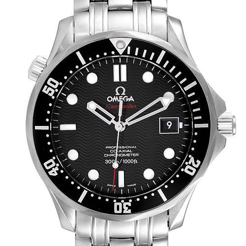 Photo of Omega Seamaster Black Dial Steel Mens Watch 212.30.41.20.01.002 Unworn