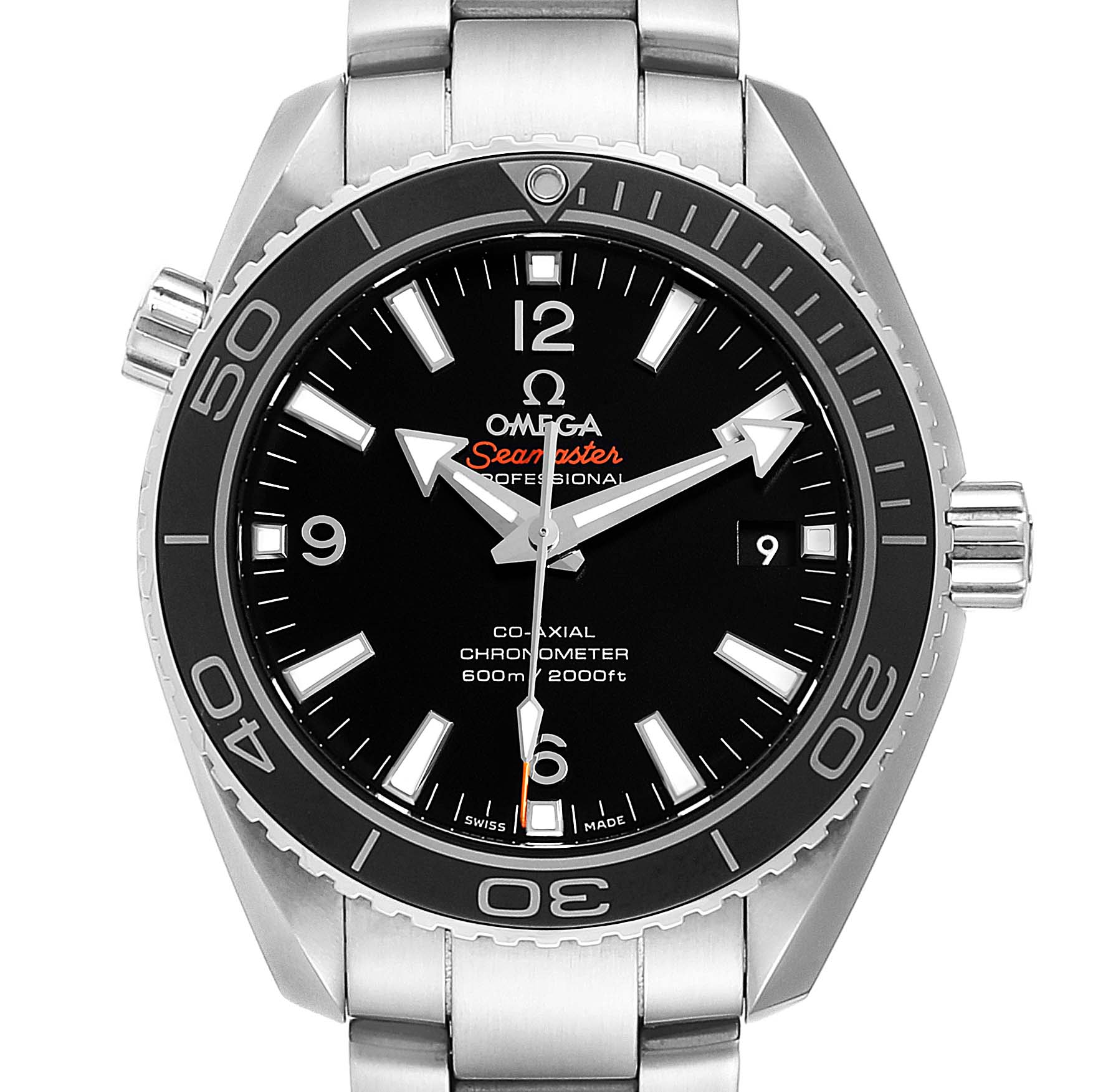 Omega Seamaster Planet Ocean Watch 232.30.42.21.01.001 Box Card