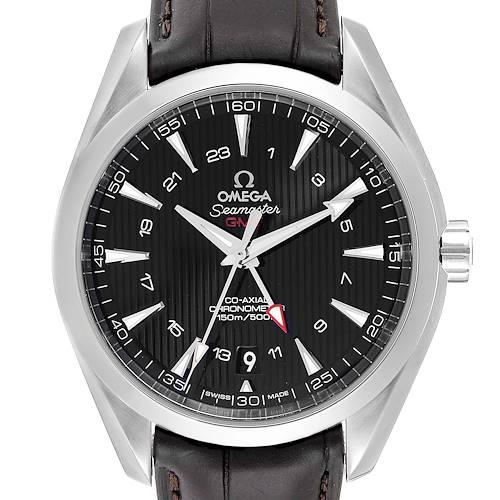 Photo of Omega Seamaster Aqua Terra GMT Co-Axial Watch 231.13.43.22.01.001 Box Card