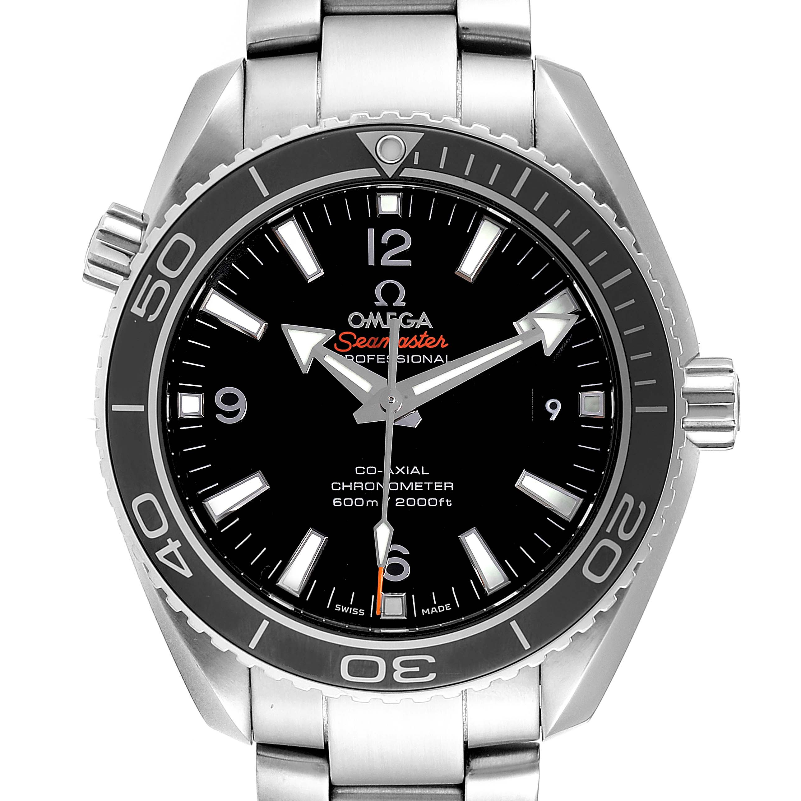 Omega Seamaster Planet Ocean Mens Watch 232.30.42.21.01.001 Card
