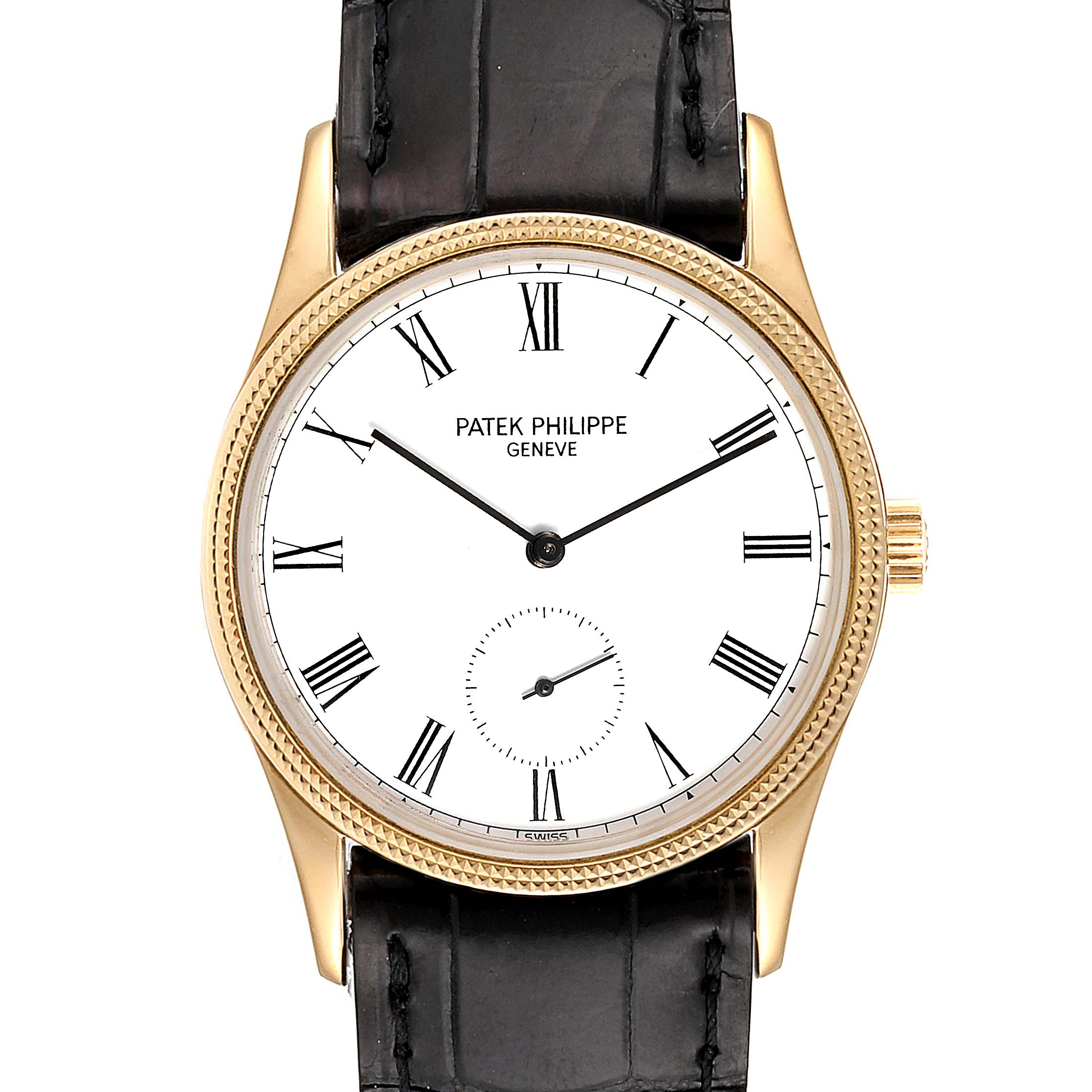 Photo of Patek Philippe Calatrava 18k Rose Gold Vintage Watch 3796