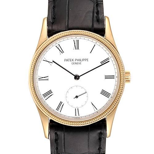 Photo of Patek Philippe Calatrava 18k Yellow Gold Vintage Unisex Watch 3796