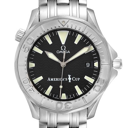 Photo of Omega Seamaster Americas Cup Limited Edition Steel Mens Watch 2533.50.00