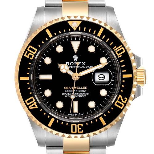 Photo of Rolex Seadweller 43mm Yellow Gold Steel Mens Watch 126603 Unworn