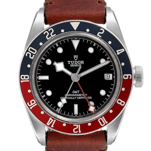 Photo of Tudor Heritage Black Bay GMT Pepsi Bezel Mens Watch 79830RB Unworn