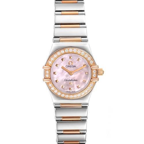 Photo of Omega Constellation Steel Rose Gold Diamond Mini Ladies Watch 1365.71.00