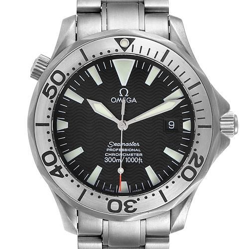 Photo of Omega Seamaster 41 Black Dial Titanium Mens Watch 2231.50.00