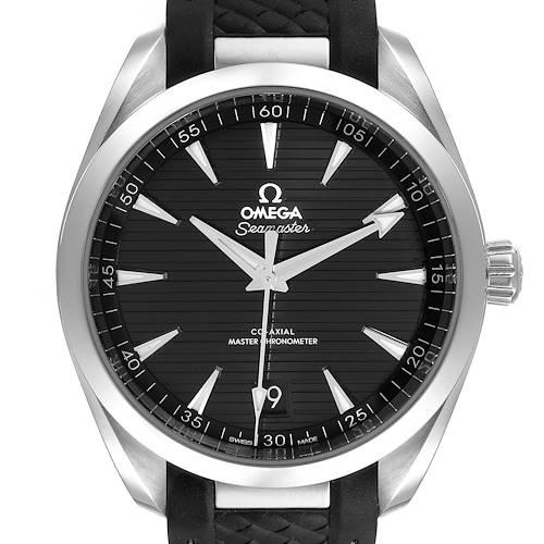 Photo of Omega Seamaster Aqua Terra Black Dial Watch 220.12.41.21.01.001 Box Card