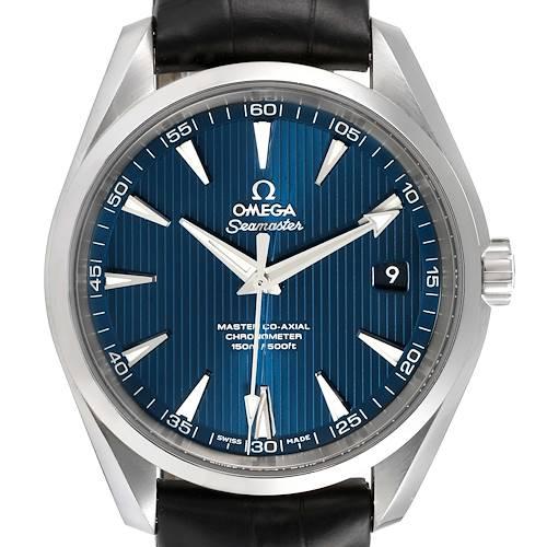 Photo of Omega Seamaster Aqua Terra Blue Dial Mens Watch 231.13.42.21.03.001