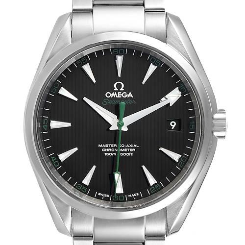 Photo of Omega Seamaster Aqua Terra Golf Edition Watch 231.10.42.21.01.004 Box Card