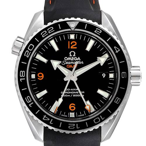 Photo of Omega Seamaster Planet Ocean GMT 600m Watch 232.32.44.22.01.002 Box Card