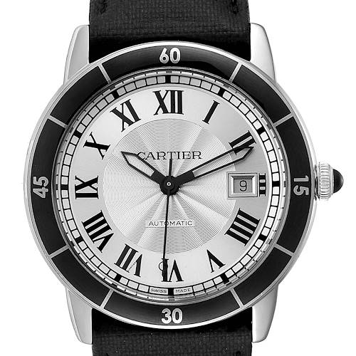 Photo of Cartier Croisiere Silver Dial Automatic Steel Mens Watch WSRN0002