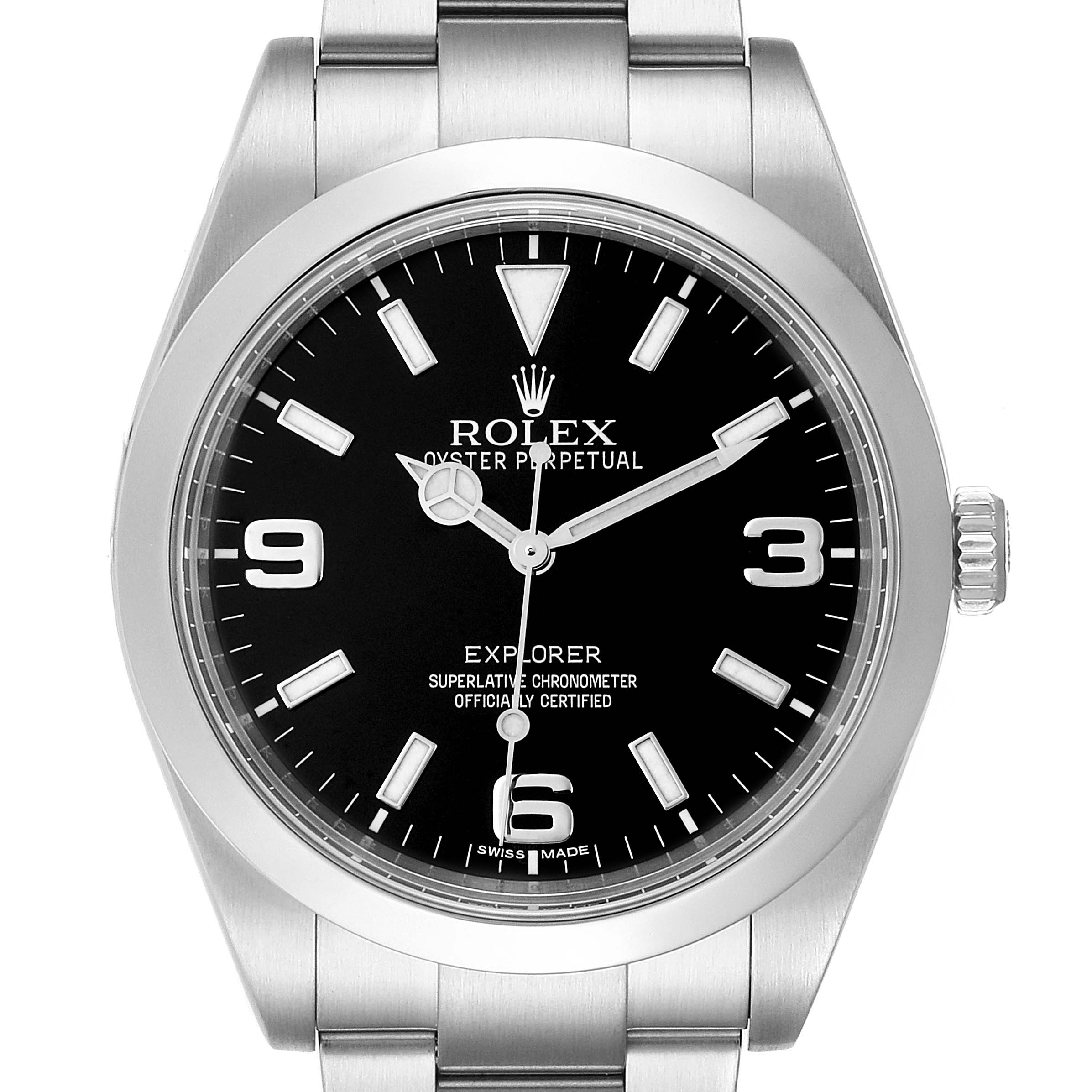 Rolex Explorer I 39 Black Dial Automatic Mens Watch 214270